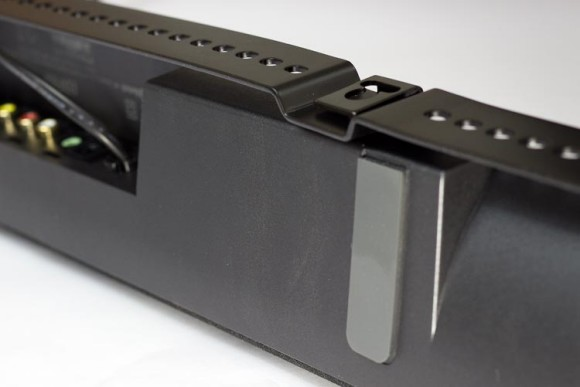 A view of the underside of the CineSound B3