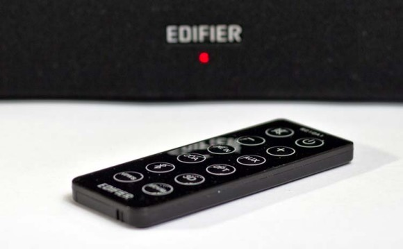 The Edifier CineSound in Coaxial or Optical mode