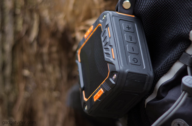 The iClever IC-BTS03 Outdoor bluetooth speaker review