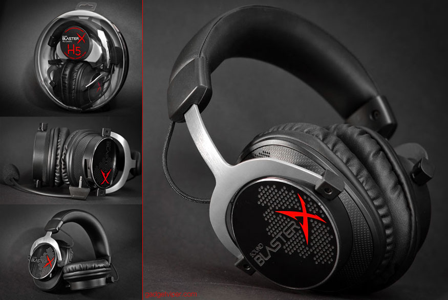 The Creative Sound BlasterX H5 gaming headset review