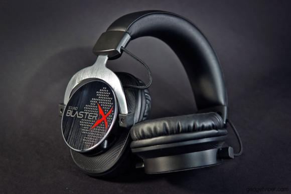 The flexibilty of the Sound BlasterX H5 headphones
