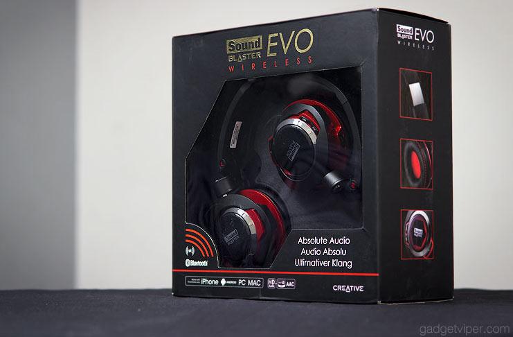 The Creative EVO wireless bluetooth headphones review