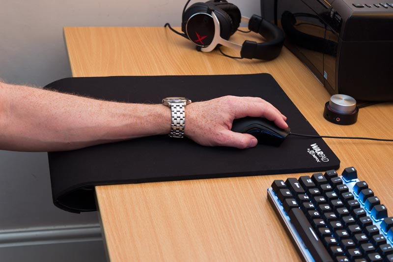 XFX Warpad - A large gaming mouse pad with an edgeless support system