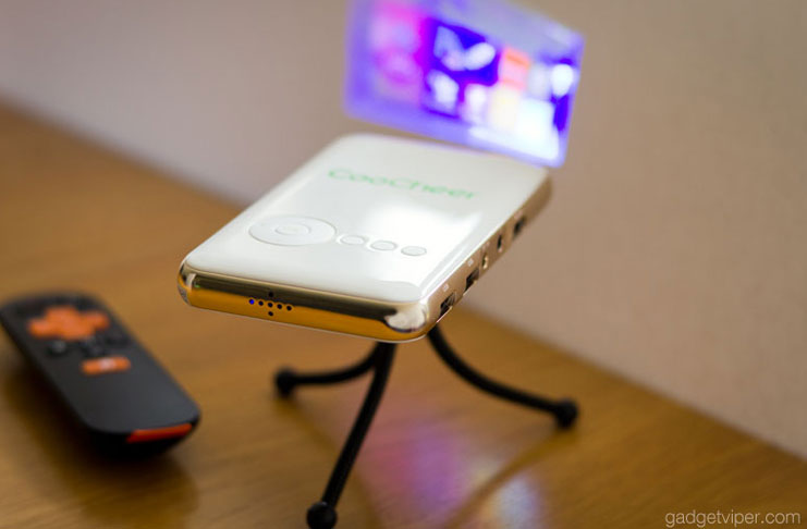 The CooChee mini LED projector review