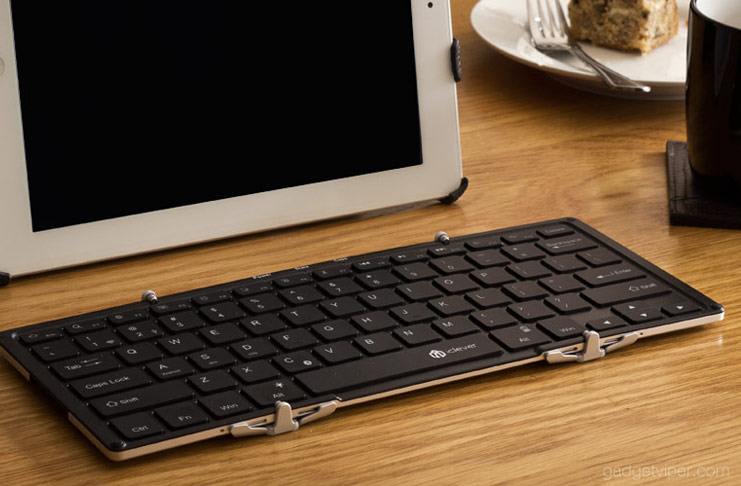 Iclever Foldable Keyboard Review A Full Size Bluetooth