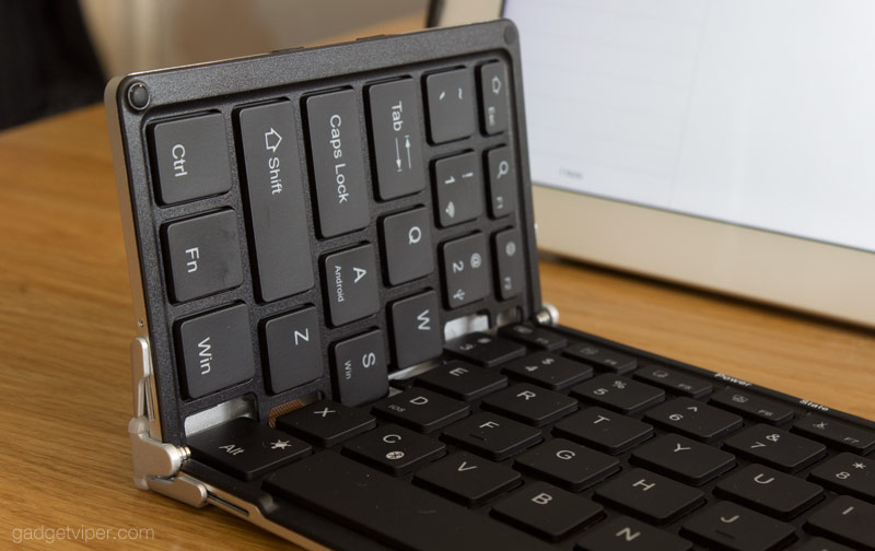 The Tri-folding Bluetooth foldable keyboard from iClever