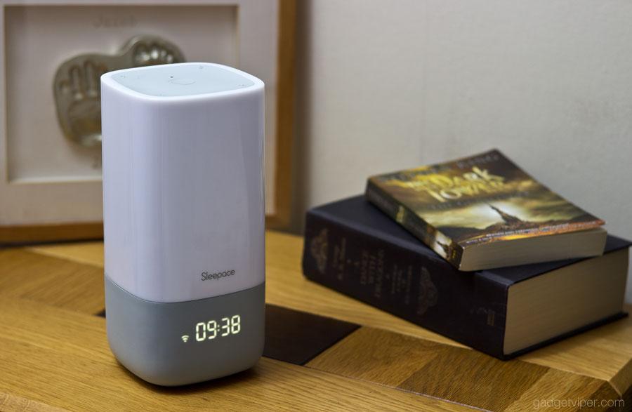 The Sleepace Nox sleep monitor and wake up light