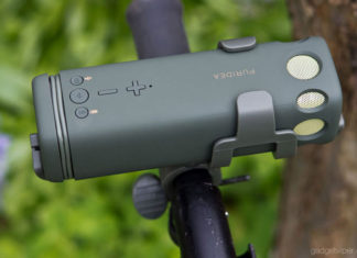 A review of the PURIDEA i2 bluetooth bike speaker