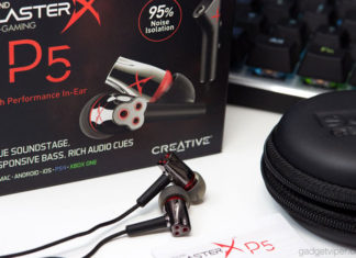 A review of the Creative Sound BlasterX P5 gaming earbuds