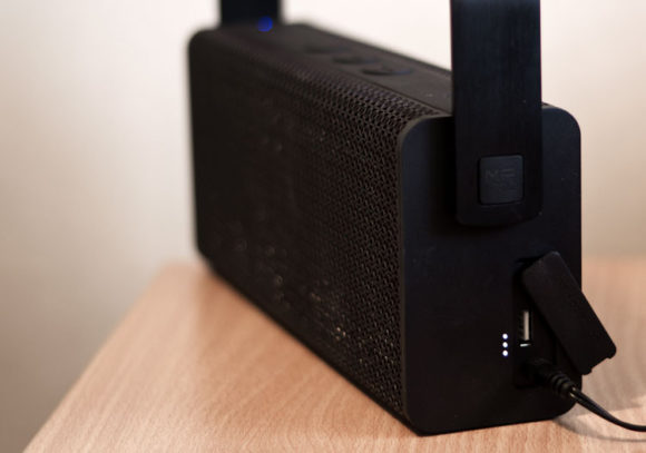 Battery status indicator on the Edifier MP700 bluetooth speaker
