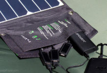 A review of the new RAVPower 24W solar panel portable charger