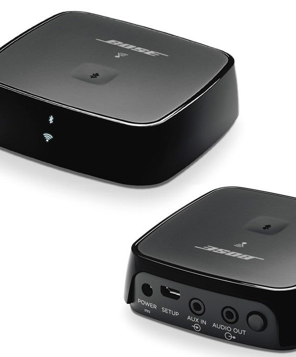 The Bose SoundTouch Wireless Link Adapter with Bluetooth