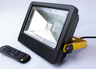 The Loftek 50W LED Floodlight review - A powerful LED outdoor floodlight with 16 color tones and 4 transition modes