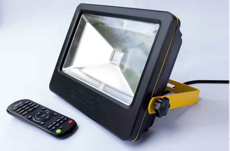 Loftek 50w Led Floodlight Remote Controlled Led Outdoor