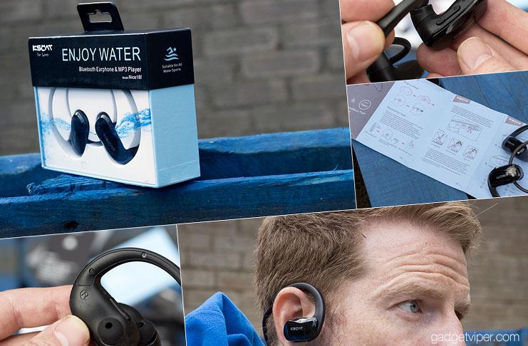 Kscat Nice18f Waterproof Swimming Earbuds Review
