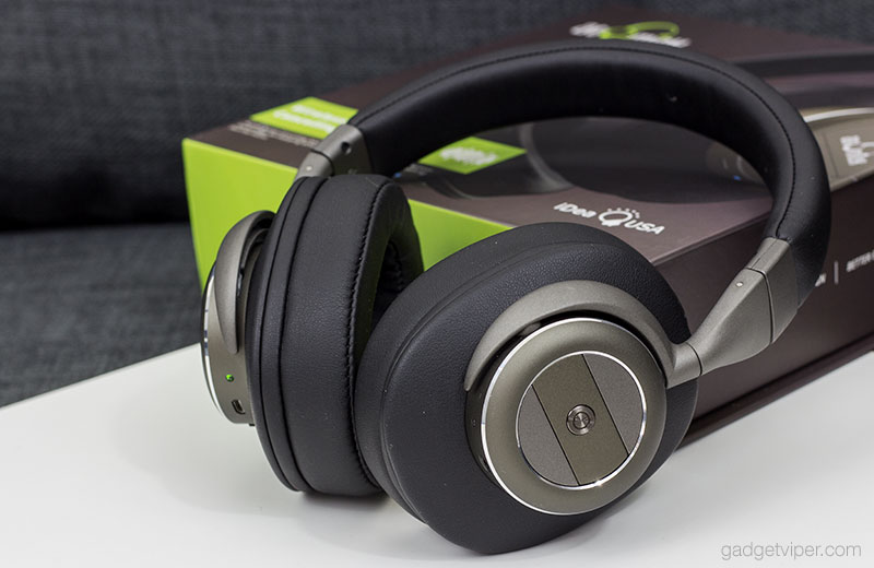 A review of the IdeaUSA AtomicX V203 Active Noise Cancelling Wireless Headphones