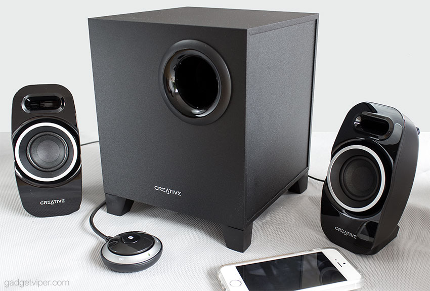 A review of the Creative T3250 Wireless PC Speakers