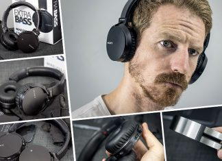 A hand on review and demo video of the SONY Extra Bass Bluetooth Headphones, model MDR-XB650BT