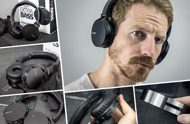 Bluetooth headphones neckband bass - headphones bass sony