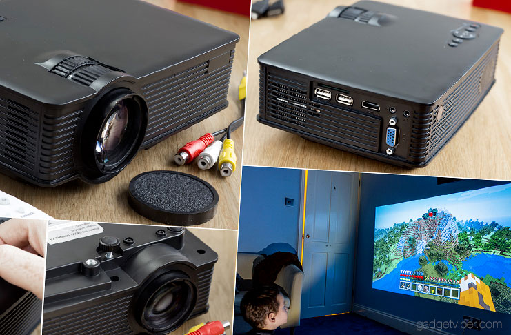The MPOW Mini Projector - an affordable home cinema solution