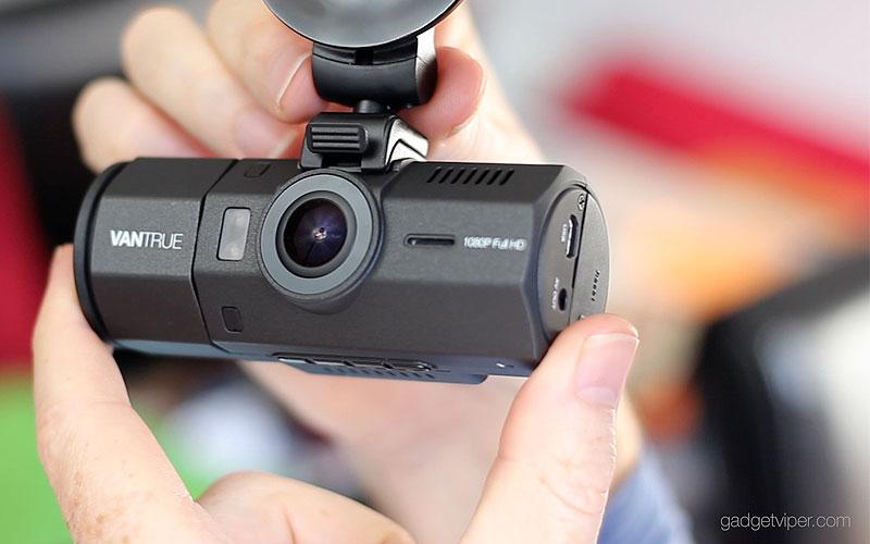 vantrue ondash n2 dashcam review 1080p 720p dual lens dash cam. Black Bedroom Furniture Sets. Home Design Ideas