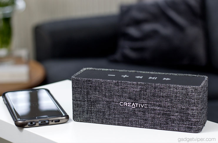 Creative Nuno Bluetooth Speaker review by GadgetViper