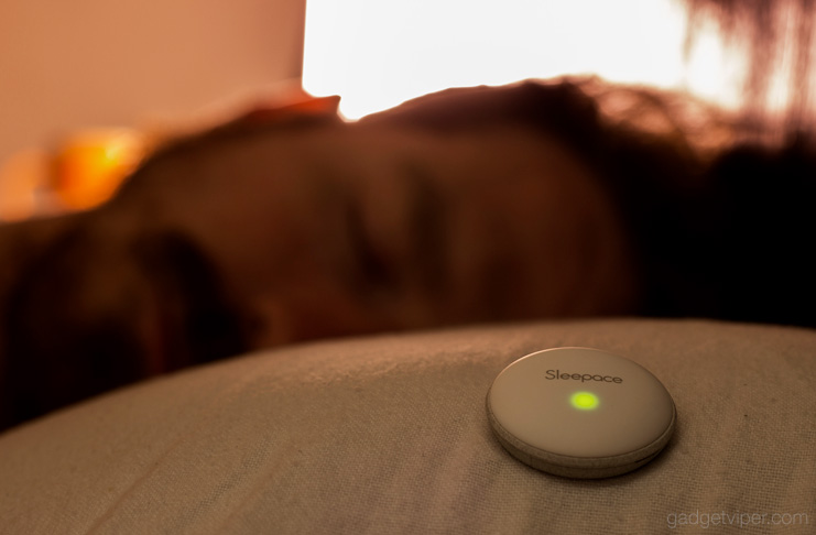The Sleep Dot - A mini sleep tracker from Sleepace