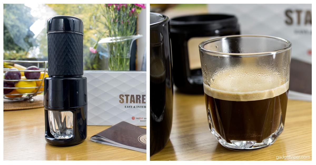 Staresso Review Portable Manual Espresso Cappucino