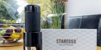 A detailed review and demonstration of the Staresso portable expresso coffee maker