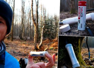 A detailed review and video demo of the ThruNite C2 Power Bank with a removable 18650 battery