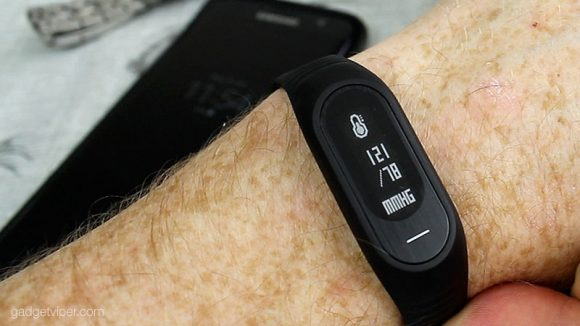 Blood Pressure monitor on the BosLan B15P Smart Band