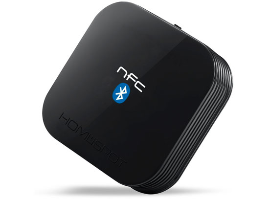 The HomeSpot Bluetooth Receiver - recently upgrade to include apt-X Low Latency and FastStream Bluetooth codecs