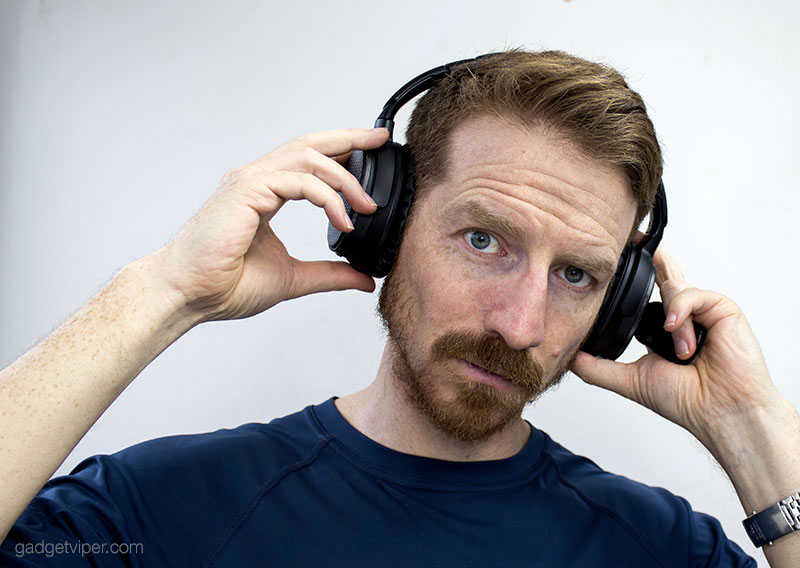 Modelling the V201 AtomicX headphones