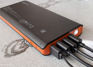 a 20000mAh Quick Charge 3.0 Power Bank by EasyAcc