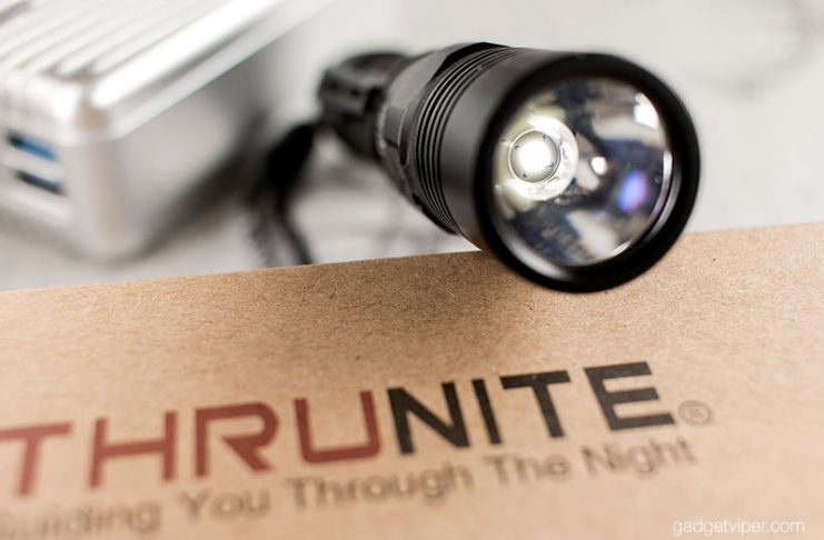 The Gadgetviper review of the ThruNite TC12-V2 Torch