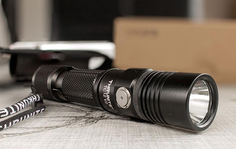 The TC12 Version 2 Flashlight from ThruNite