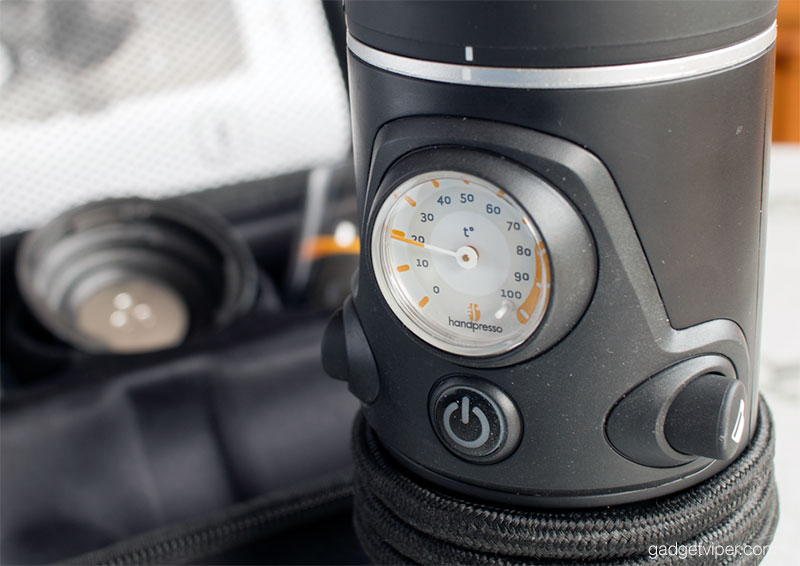 Handpresso Auto pressure guage