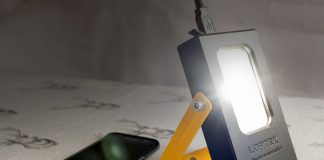 A review of the Loftek 15W portable flood light with a built in 6000mAh power bank for charging your phone.
