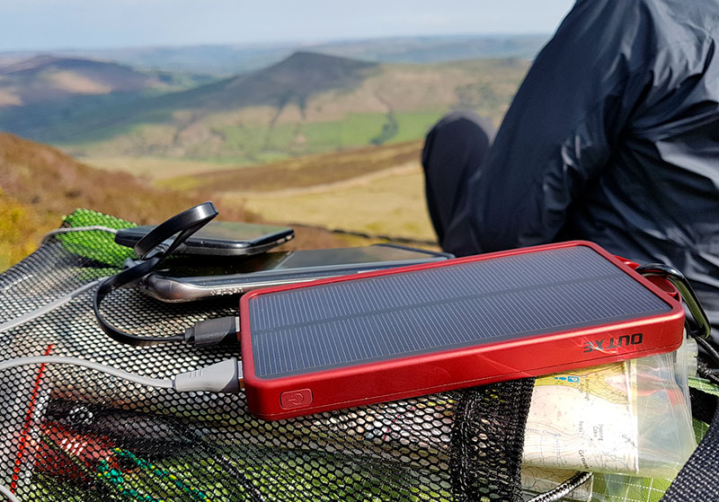 Outxe Power Bank Review Featuring A Solar Panel And 32