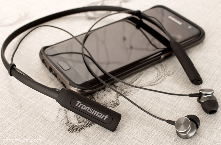 A review of the Tronsmart encore S2 Bluetooth neckband headphones