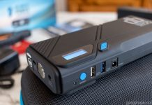 A review of the DBPower N0.1 Portable Car Jump Starter featuring a massive 1200A peak output capable of jump starting cars up to 6.5L