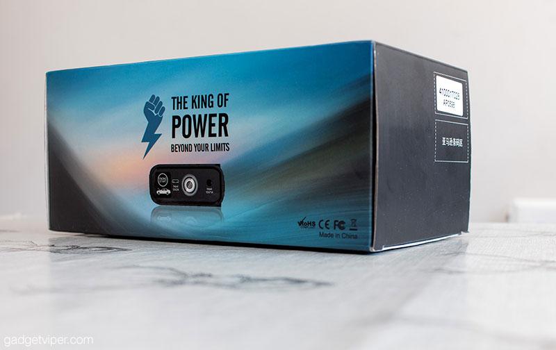 Unboxing the DBPower 1200A Peak car jump starter featuring QC 3.0 technology