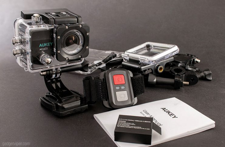The Aukey Action Camera Review - a 4K Budget Action Camera packed full of features
