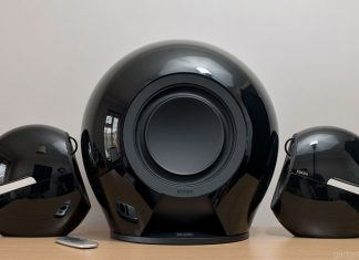 The Black version of the Edifier e235 Luna E speaker system
