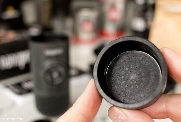 The Nanopresso filter basket