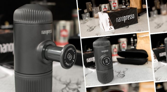 The Nanopresso Review - A Portable Espresso Coffee Machine