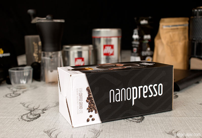 Nanopresso Review The New Portable Espresso Machine From