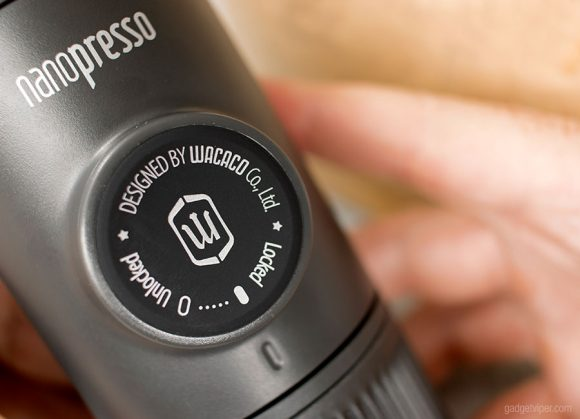 A close up look at the Nanopresso Coffee Machine