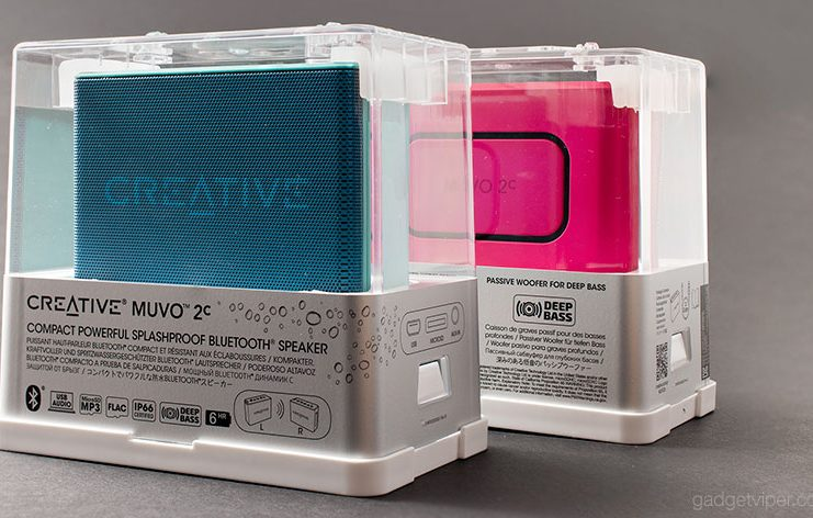 A review of the Creative MUVO2c Portable Bluetooth Speaker and a look at how it works with the new SOund Blaster Connect SmartPhone App