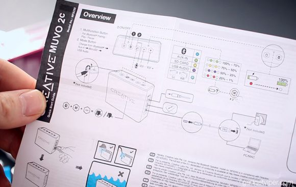The Creative MUVO 2c instruction Manual